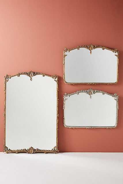 Josephine Floor Mirror - Gilt - Anthropologie