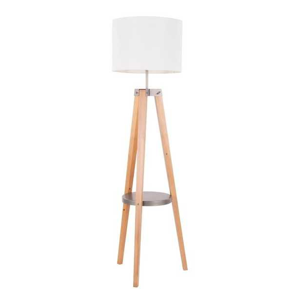 "Maylis 59"" Tripod Floor Lamp - Wayfair"