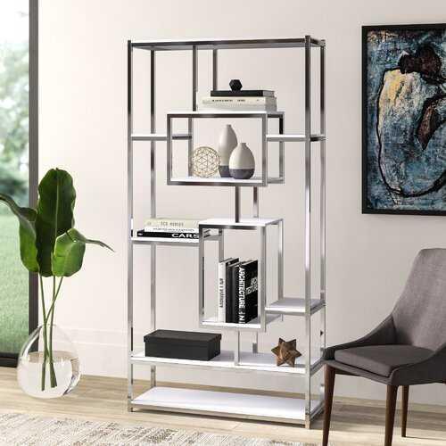 Agatha Etagere Bookcase - Wayfair