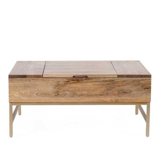 Kassidy Lift Top Coffee Table with Storage - Wayfair