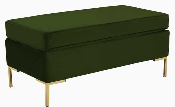 Dee Bench with Storage - Royale Forest - Joybird