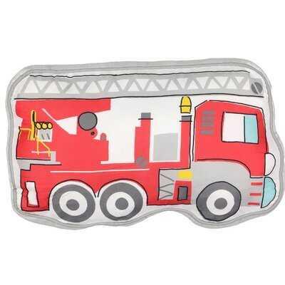 Kids Hero Squad Fire Truck Throw Pillow - Wayfair