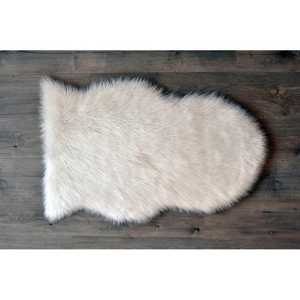 Mulcahy Faux Sheepskin Area Rug - Wayfair