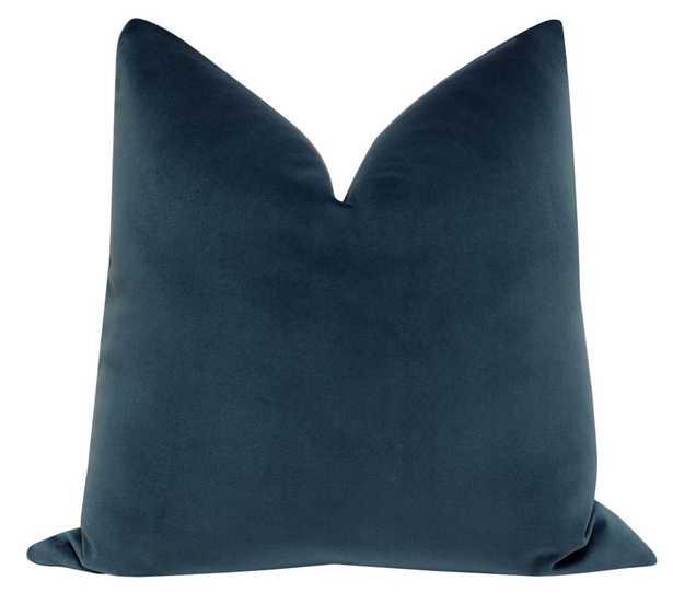 Signature Velvet // Prussian Blue BACKORDER - Little Design Company