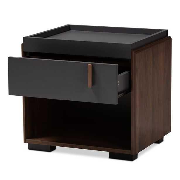 Askern Wood 1 Drawer Nightstand - Wayfair