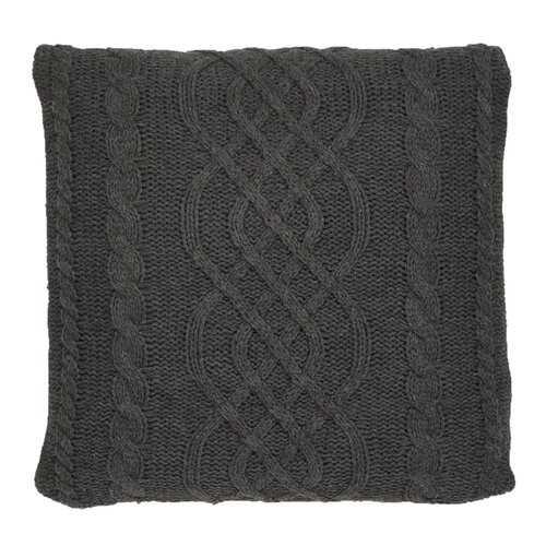 Lucero Chunky Cable Knit Throw Pillow - Wayfair