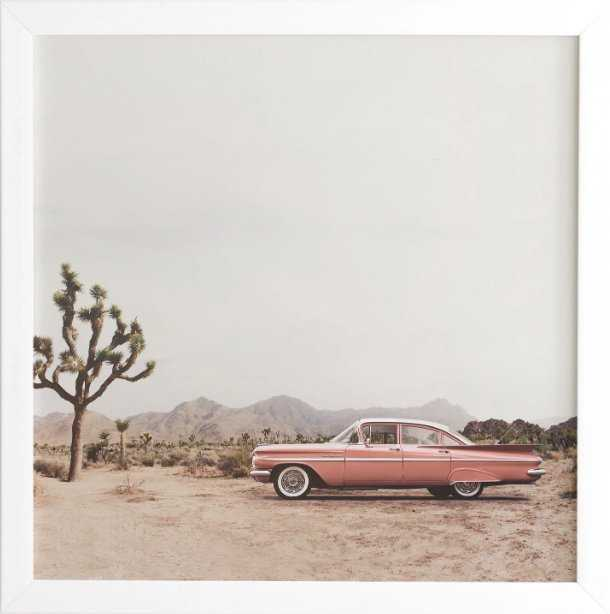 CALIFORNIA LIVING  BY SISI AND SEB WHITE FRAMED WALL ART - Wander Print Co.