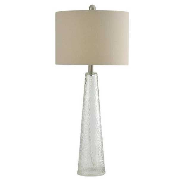 "Oconee Tinted Glass 29.5"" Table Lamp - Wayfair"