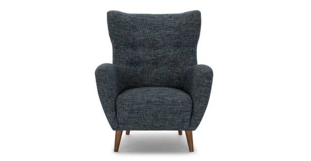 Mod Blue Berry Armchair - Article