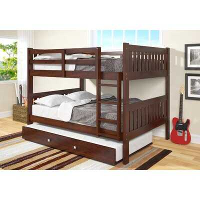 Hargrave Full over Full Bunk Bed with Trundle - Wayfair