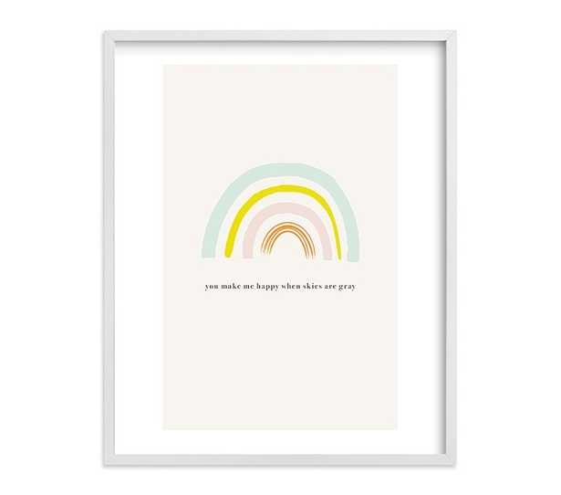 You Make Me Happy Wall Art by Minted(R), 16x20 - Pottery Barn Kids