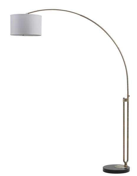 Polaris Arc Floor Lamp - Chrome - Arlo Home - Arlo Home