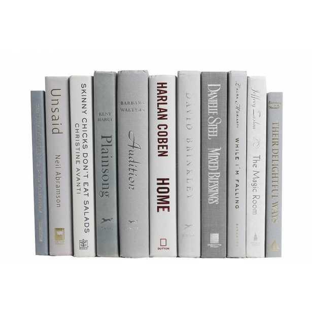 Authentic Decorative Books - By Color Modern Marble ColorPak - Wayfair