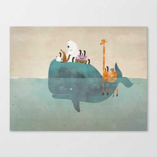 summer holiday Canvas Print - small - Society6