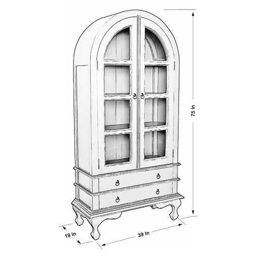 Farreli Display Stand - Gray - Wayfair