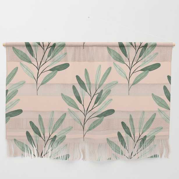 Olive Branch Wall Hanging by Jessica Rae Design - Society6