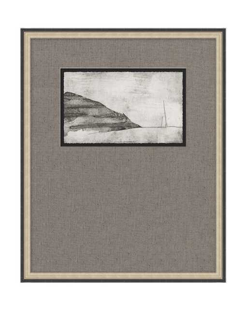 LAYERED MOUNTAIN Framed Art - McGee & Co.