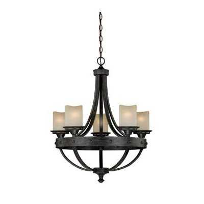 Galyon 5-Light Candle-Style Chandelier - Wayfair