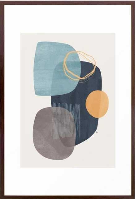 Cyra Framed Art Print, 26 x 38 - Society6