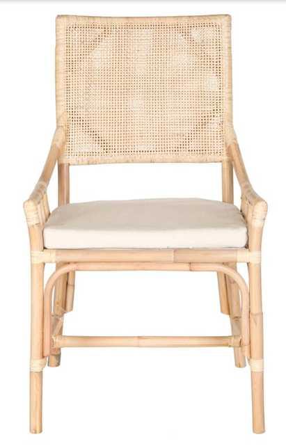 Donatella Rattan Chair - Arlo Home
