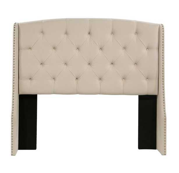 Chenery Upholstered Wingback Headboard Easten King/California King - Wayfair
