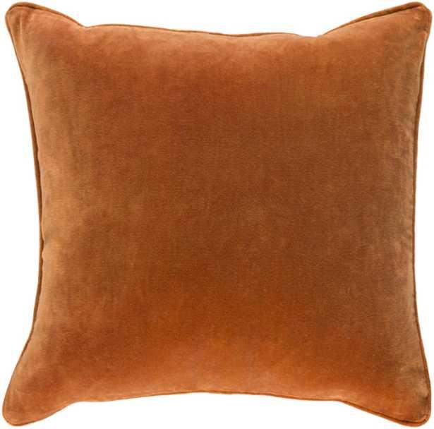 Claude Pillow Cover - Rust - Studio Marcette