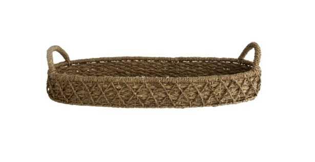 Woven Seagrass Table Tray - McGee & Co.