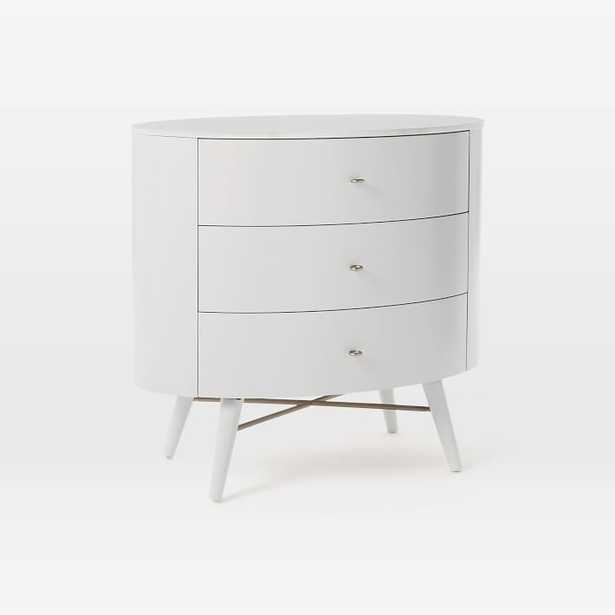 Penelope 3-Drawer Dresser, Oyster/Marble - West Elm