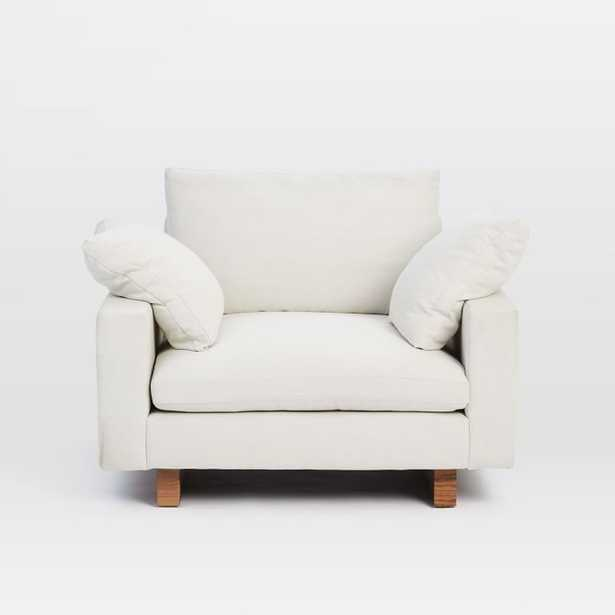 Harmony Down-Filled Chair And A Half - West Elm
