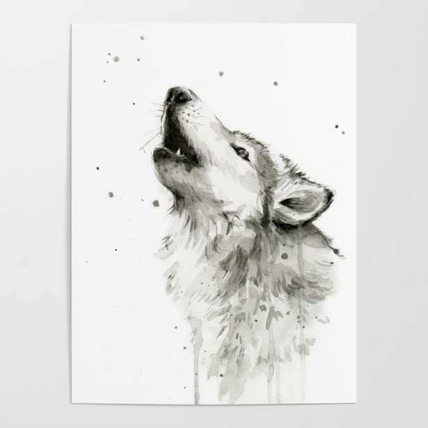Wolf Hollowing - Society6