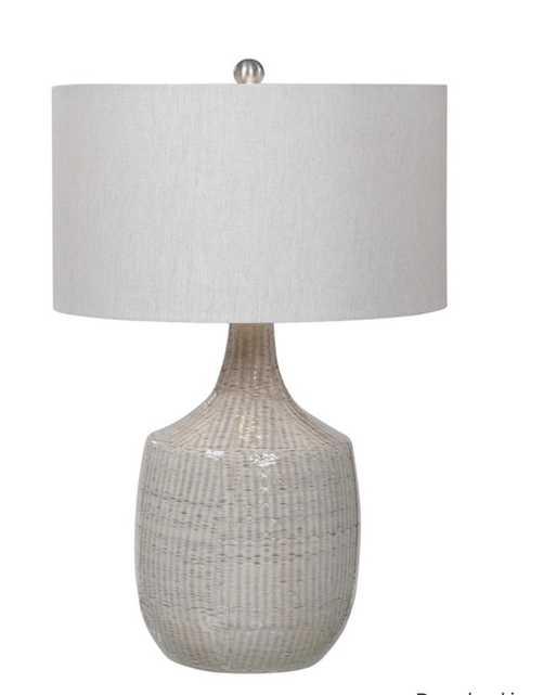 Felipe Gray Table Lamp - Hudsonhill Foundry