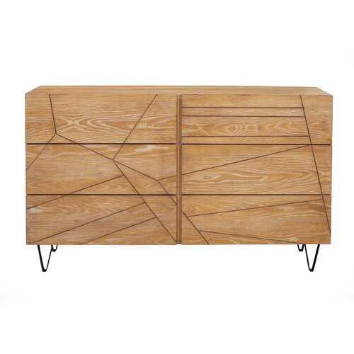 Benjamin 6 Drawer Dresser - Wayfair