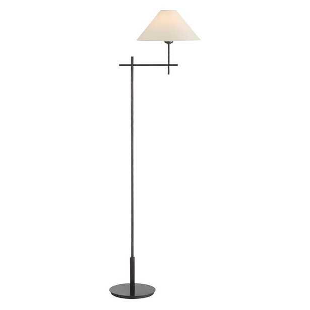 HACKNEY BRIDGE ARM FLOOR LAMP - BRONZE - McGee & Co.