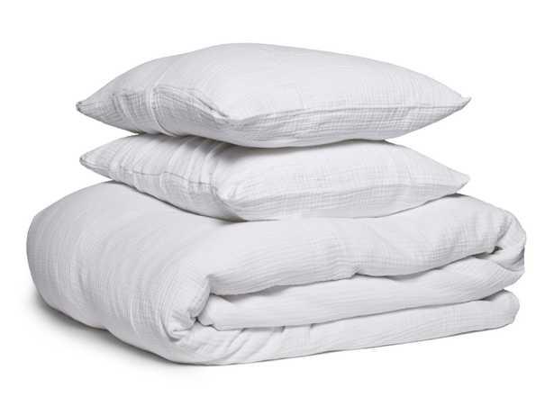 Cloud Cotton Duvet Cover Set - Queen, White, duvet + 2 shams - Parachute
