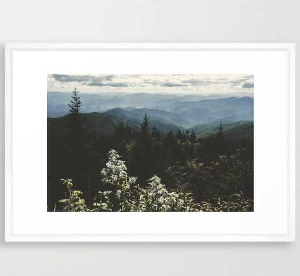Smoky Mountains - Nature Photography Framed Art Print - Society6