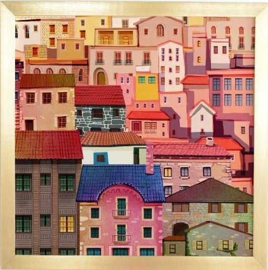HOUSES  BY FRANCISCO FONSECA - Wander Print Co.