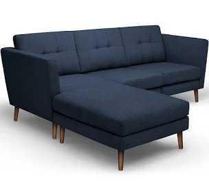 Blue Sectional Sofa - Burrow