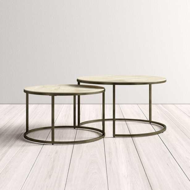 Dearborn 2 Piece Coffee Table Set - AllModern