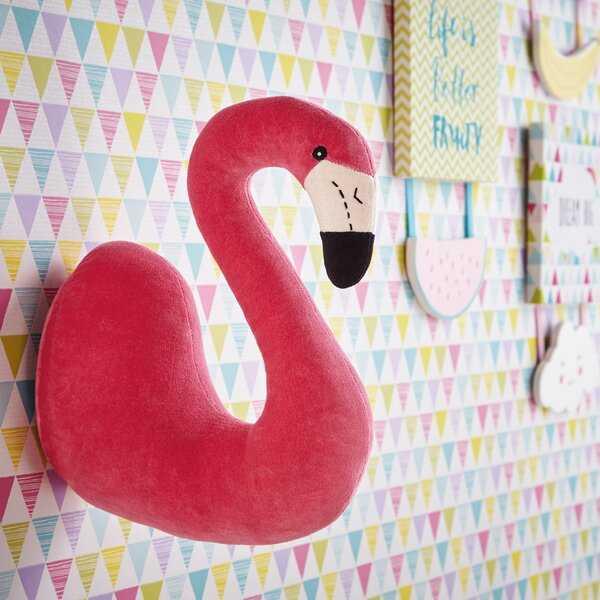 The Flamingo 3D Animal Head Wall Décor - Wayfair