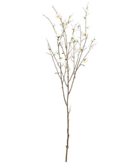 FAUX QUINCE BLOSSOM STEM - McGee & Co.