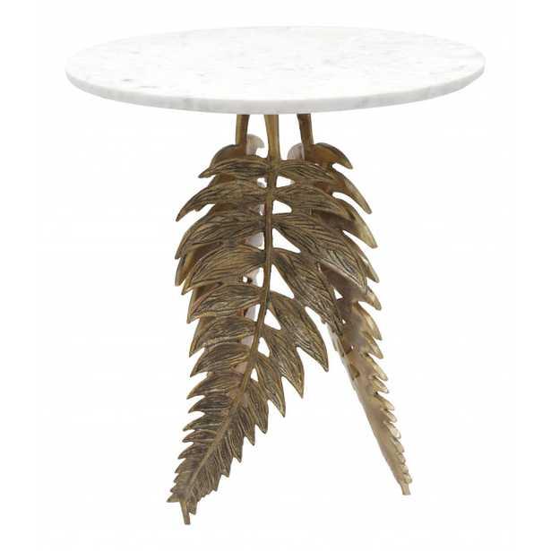 Neruda Side Table Gold - Zuri Studios