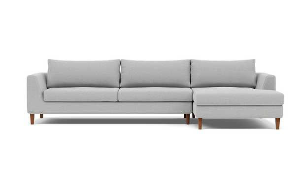 ASHER 3-Seat Right Chaise Sectional - Interior Define