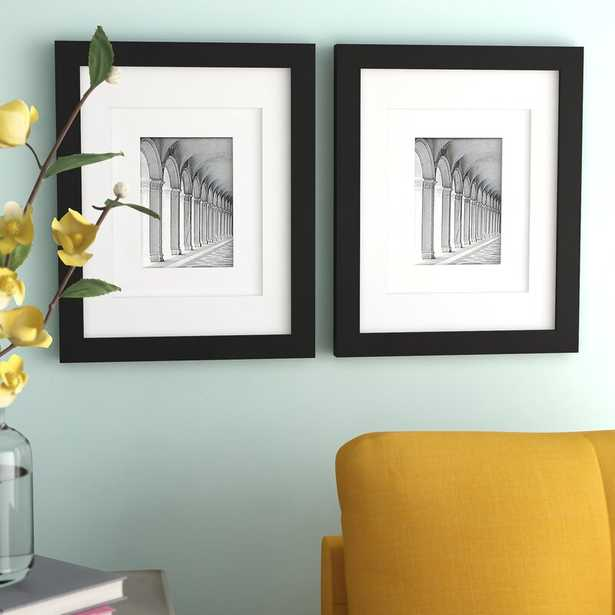 Lucienne Modern Chic Smooth Picture Frame (Set of 2) - Wayfair