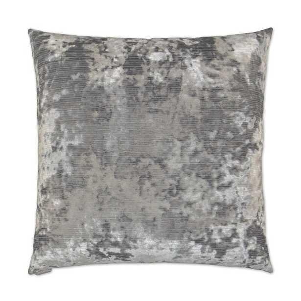 D.V. Kap Miranda Throw Pillow Color: Silver - Perigold