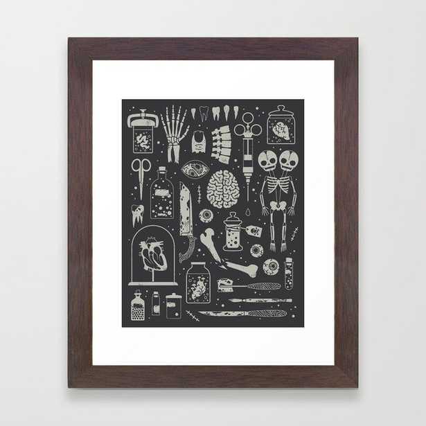 Oddities: X-ray Framed Art Print - Society6