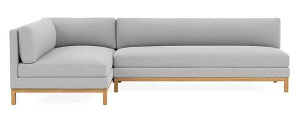 JASPER Left Chaise Sectional - Interior Define