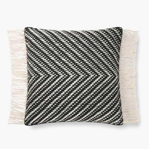 P1121 Mh Black / Ivory - Poly Insert - Loma Threads