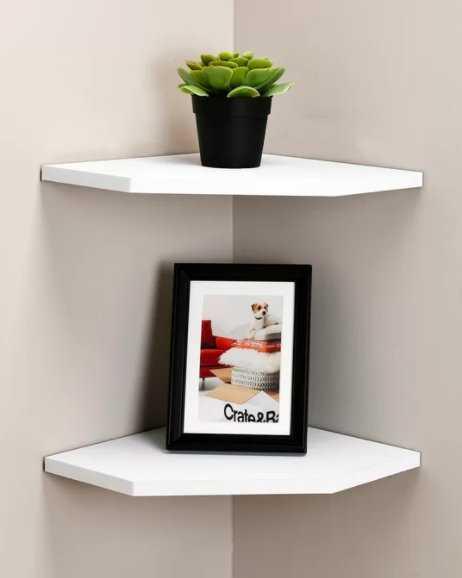 2 Piece Corner Shelf (Set of 2) - Wayfair