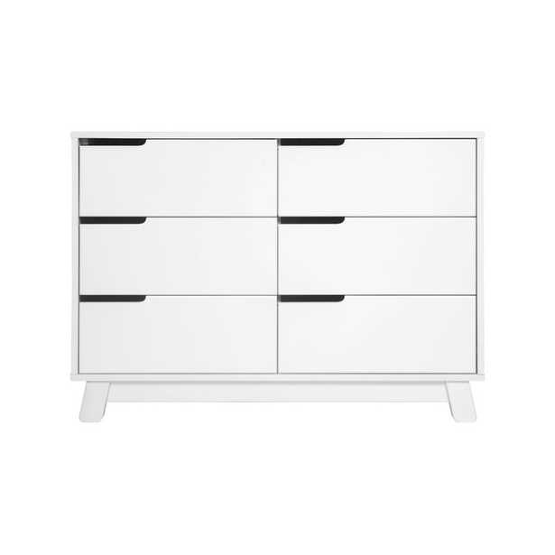 Babyletto Hudson 6-Drawer Double Dresser - White - Wayfair