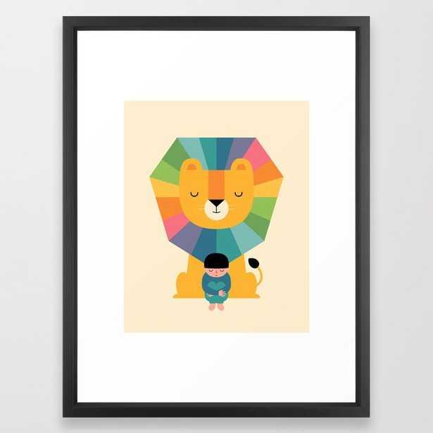Courage Framed Art Print - Society6